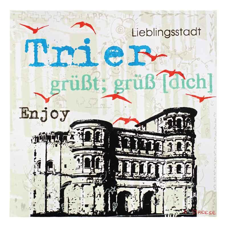 Trier, Porta-Nigra, enjoy
