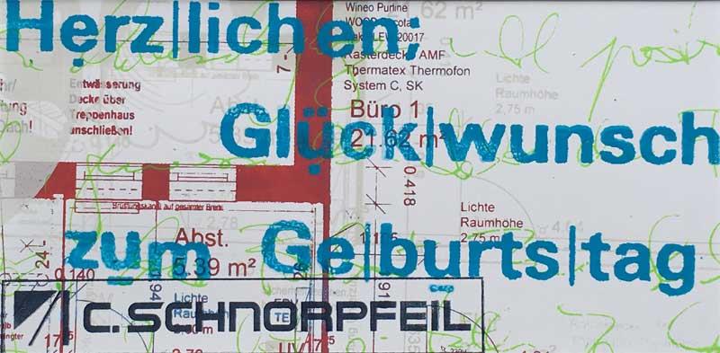 Schnorpfeil Grusskarte 1, Trier