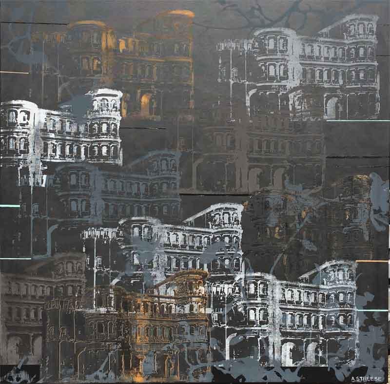 Trier Siebdruck Black 120x120