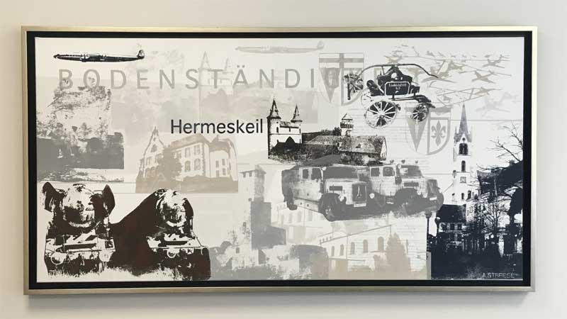 Volksbank Trier Siebdruck Hermeskeil