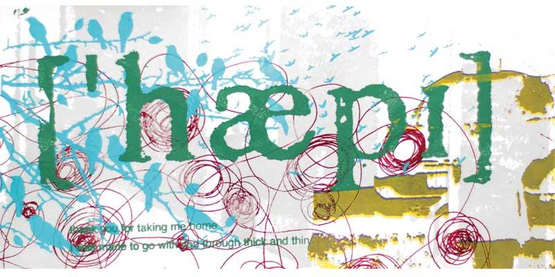 Karte Happy