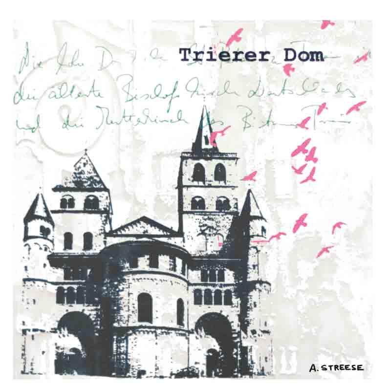 Postkarte Dom Trier
