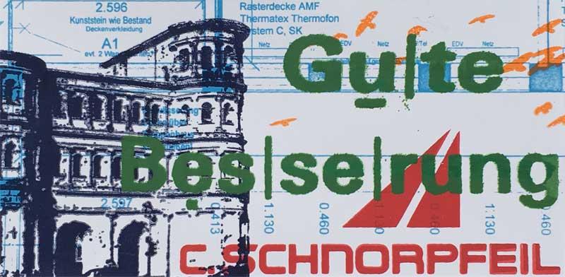 Schnorpfeil Grusskarte 4, Trier