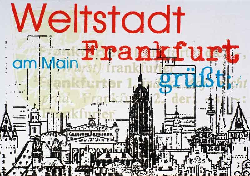 Frankfurt am Main Weltstadt